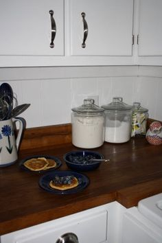 DIY wood countertop I would love to do this!