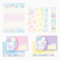Cinnamoroll letter set -- Oct 2014 collection (^∇^)