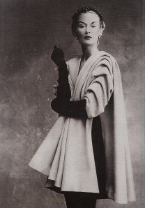 models, paris, fashion, london, balenciaga coat, irving penn, golden age, coats, 1950's french couture