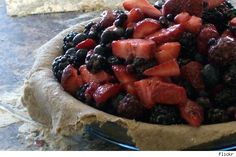 Healthy Holiday Recipe: Berry Tart with Whole Wheat Crust