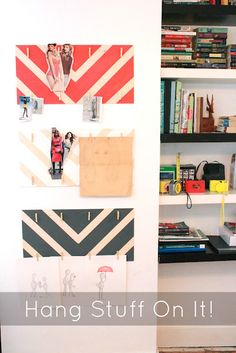 Make cute plywood inspire boards to keep track of things that inspire you
