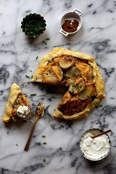 Roasted Potato Galette by joy the baker, via Flickr