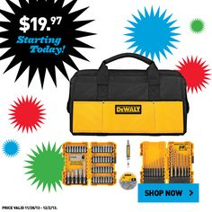 Don't miss this Black Friday tool set. Shop online today!