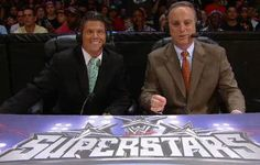 Scott Stanford (right) and Josh Mathews from the 6/21/12 episode of Superstars.