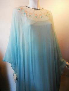 style, dress, caftan, vintag halston