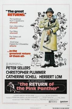 The Return of the Pink Panther 1975. Laugh so hard it hurts every single time.