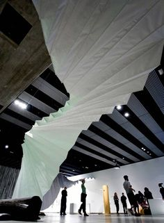 Move: Choreographing You, exhibition design by Amanda Levete Architects