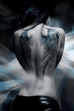 Wings tattoo 1