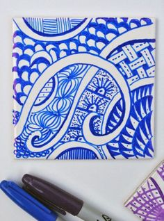 Doodle Coasters - Fun Family Crafts