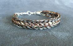 Bracelets - Real horsehair bracelets for every horse lover - Tara's Equine Designs - Custom Horsehair Jewelry & Bracelets for Every Horse Lover