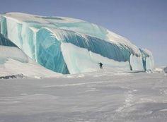 Frozen Tsunami In Antarctica