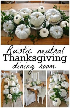 Rustic neutral Thank