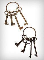 Decorative Skeleton Keys at PLASTICLAND