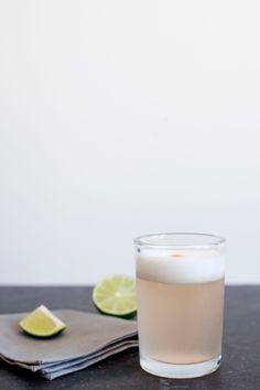 rhubarb pisco sour