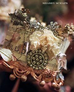 Cool handmade crown...
