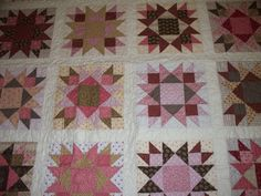 Pink quilts are so girly.