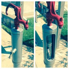 Awesome fake water pump #geocache.  This would take more than a little work to create!  Very convincing and professional looking.  (pinned from websta by pinterest.com/islandbuttons)