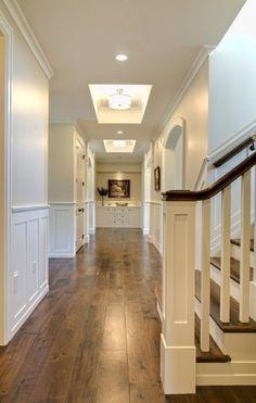 wide hardwood floors