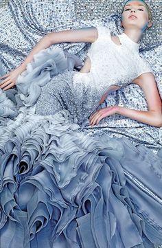 Vogue Thailand Ruffles
