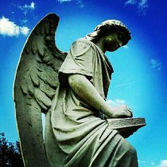 #Natchez #cemetery #turningangel #Mississippi - @christiedorsa- #webstagram