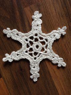 Ravelry: 'Fauna' Snowflake pattern by Jenny Reid #crochet