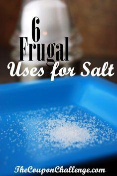 5 Frugal Uses for Salt