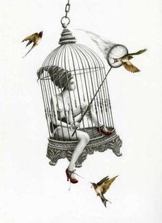 Fairytale Illustration by Courtney Brims