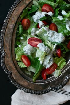 yogurt ranch dressing.