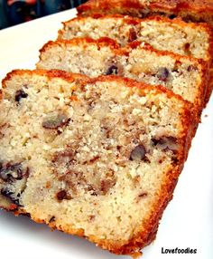 Pecan Almond Loaf 175 g or 3/4 cup softened butter 175 ml or 3/4 cup milk 290 g or  1 1/2 cups regular sugar 3 eggs (lightly beaten) 1 Teaspoon Almond Extract 110 g or 3/4 Cup chopped Pecans 100 g or  1 cup  Plain / All purpose flour (sieved) 100 g or 1 cup Ground Almonds 1 1/2 tsp baking powder 1/2 tsp salt