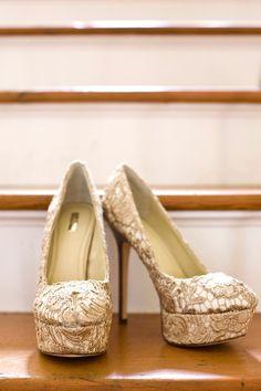 Lace & Platform Stilettos
