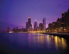 purple city.