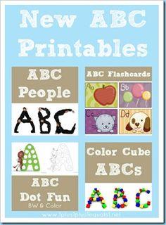 Alphabet printables.