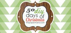 50 DIY Days of Christmas! :D