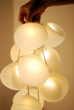 Modern Lighting: d°light Bubbles by Diana Lin