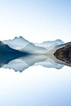 The Lake [Italy, Dolomites] #travel #mountains