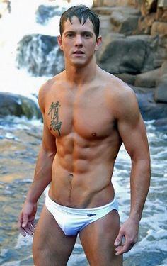 Nice white swimsuit