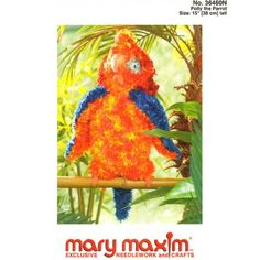 Mary Maxim - Polly the Parrot Pattern - Free Patterns - Patterns & Books