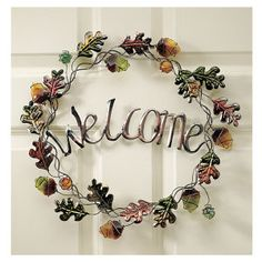 Fall Welcome Wreath | Country Store