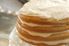 Vermont Spice Cake with Maple Cream Cheese Frosting