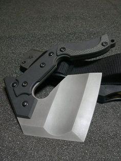 Nemoto Knives - Sai Mon - It's like a hand hatchet :D