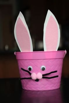 Quick Easter Basket Idea  Cute Idea! basket idea, easter basket