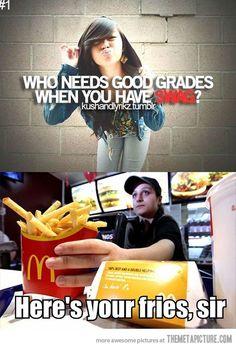 Who needs good grades