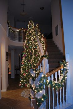 This is my Christmas tree all decorated in 2010.