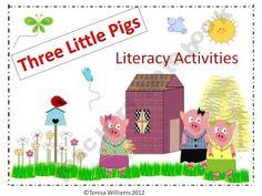 Three Little Pigs Literacy Activities