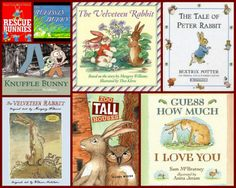 Our favorite Bunny Books!