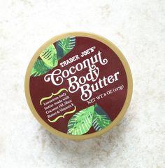 Trader Joe's coconut body butter rocks