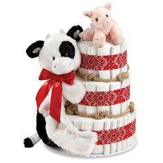 Diaper Cakes for Boys baby-shower