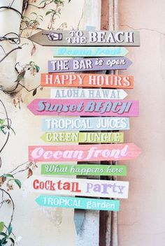 Love it. Done a beach decor sign like this myself x