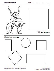 Free printables for preschool