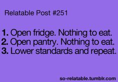 Story of my life....